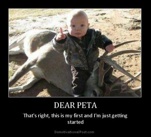 DEAR PETA