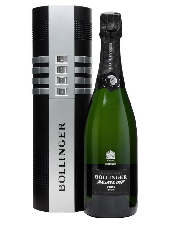 Bollinger James Bond 002 for 007 Limited Edition Champagne