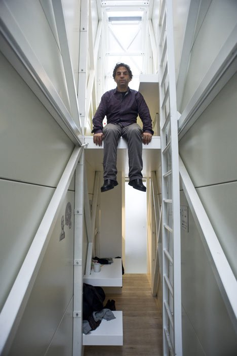 Keret House: world's narrowest house by Jakub Szczesny