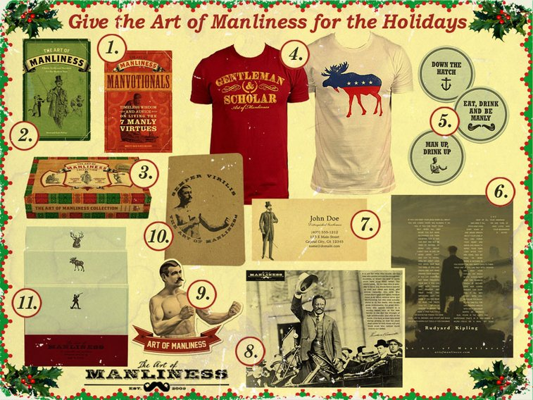 Give the Art of Manliness for the Holidays | The Art of Manliness