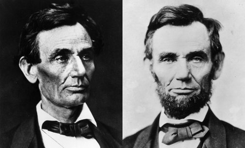 The girl who grew Lincoln's beard