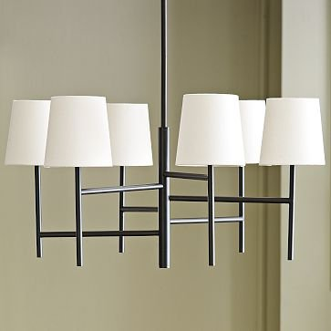 Staggered Chandelier - Small | west elm