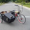 Dude Craft: Motorized Bicycle w/ Sidecar