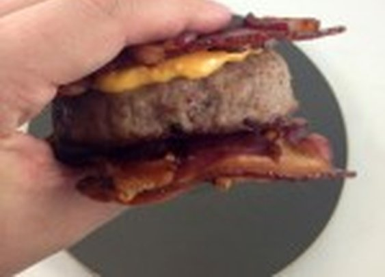 Review of the Angus BacoBurger 50/50 bacon and Angus burger