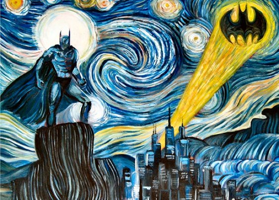 Dark Starry Night Print by James Hance