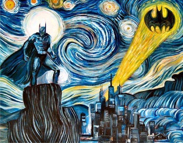 Dark Starry Night Print by James Hance