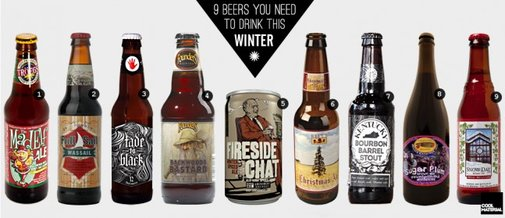 9 Beers You Need to Drink This Winter | Cool Material