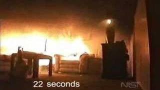 Christmas Tree Fire Test - YouTube