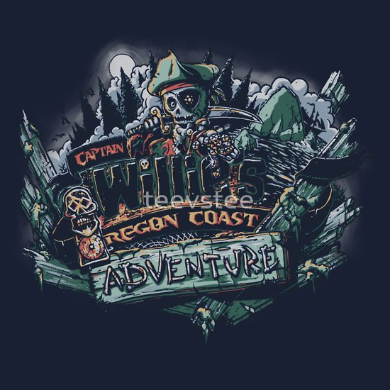 """Oregon Coast Adventure"" T-Shirts & Hoodies by teevstee 