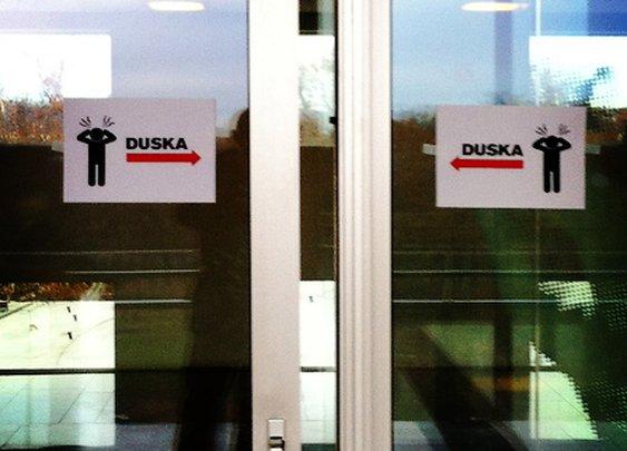 Duska learned her lesson