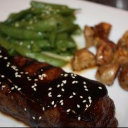 Steak with Four Roses Bourbon Sauce