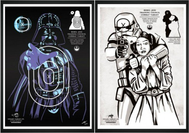 Starwars Rebel Training Targets
