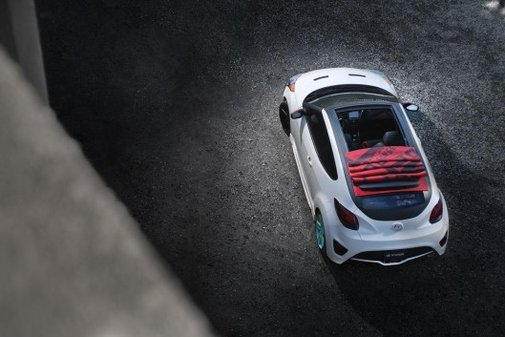 Pickup Hatch? Hyundai C3 Roll Top pulls the roof off the Veloster