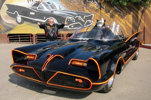 George Barris to sell original 1966 Batmobile