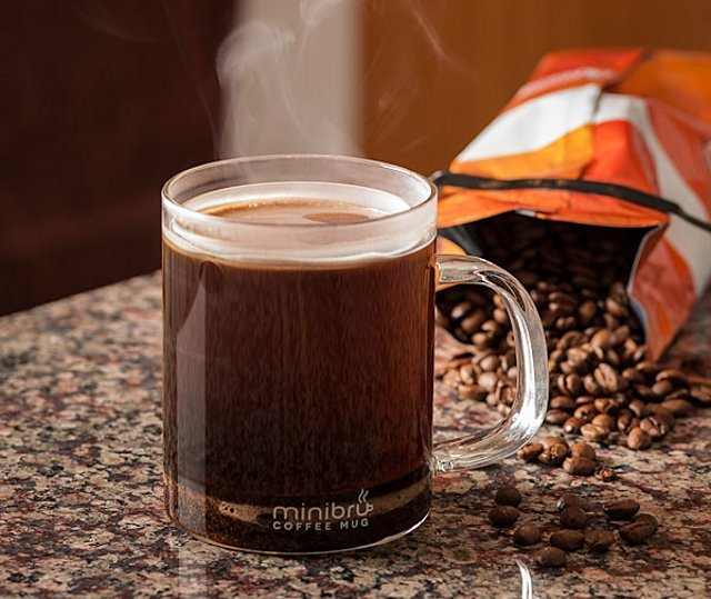Minibru - French Press Coffee Mug