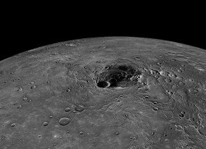 Frozen Water and Organic Material Discovered on Mercury