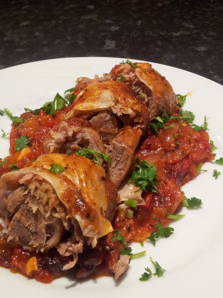 Braised Lamb Breast  from The Hungry Manc