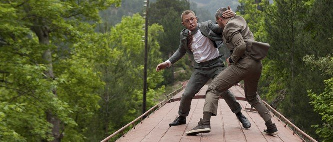 Skyfall Behind-the-Scenes Action Sequences [SPOILERS]
