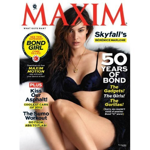 1 year of Maxim for $5 on Amazon! [Print + Kindle]