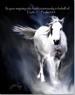 Ride Fourth Victoriously -- by Jennifer Page