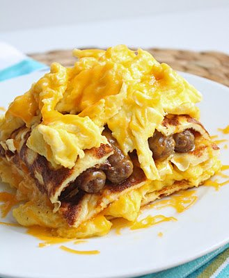 Breakfast Lasagna