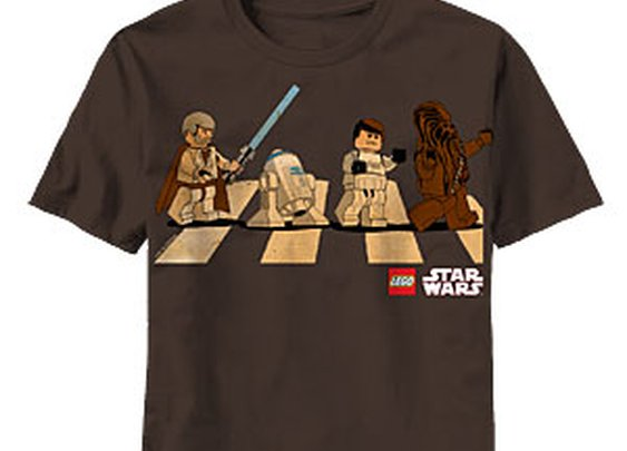 ThinkGeek :: Star Wars Lego Abbey Road