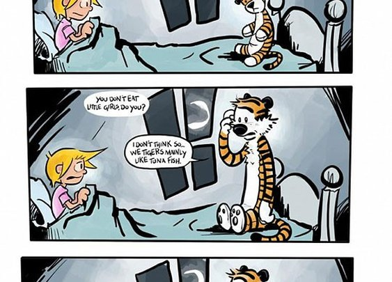 Calvin and Hobbs (26 Years Later...)