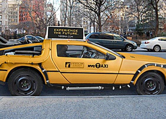 The DeLorean Taxi