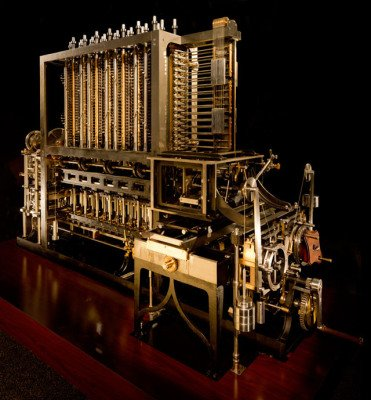 The Babbage Difference Engine in High Resolution Photography