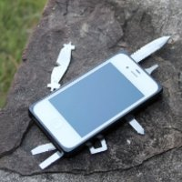 Use your iPhone to fix your bike and cut your steak! | Indiegogo