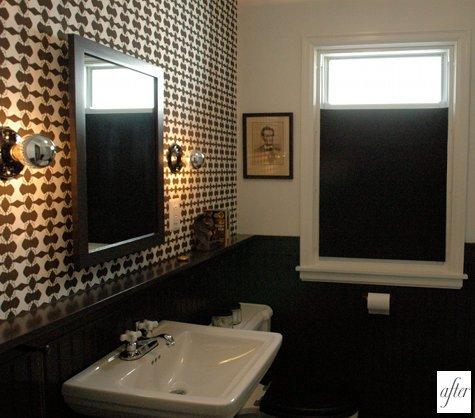 Masculine Bathroom Design | Small Bathroom