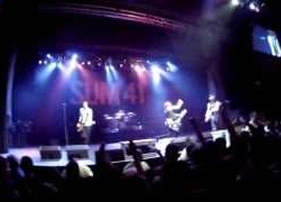 Sum 41 Live in NY - YouTube