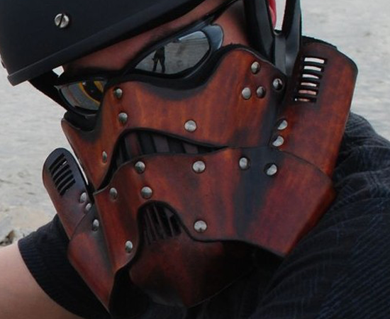 Stormtrooper Motorcycle Mask