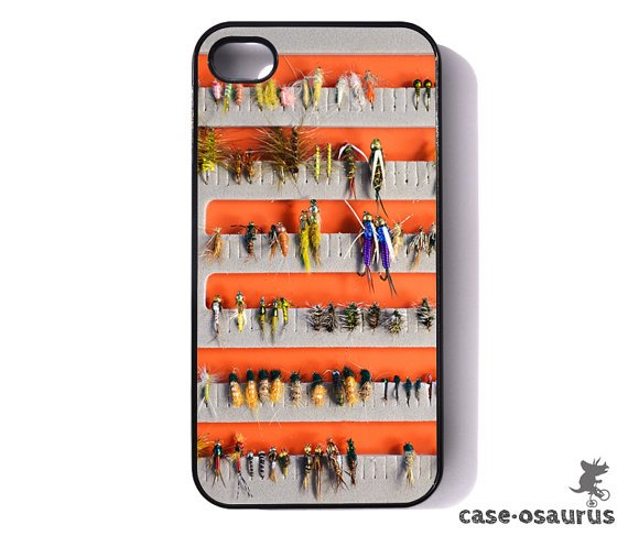 Fly Fishing Fly Box  Nymphs iPhone 4/4s Case