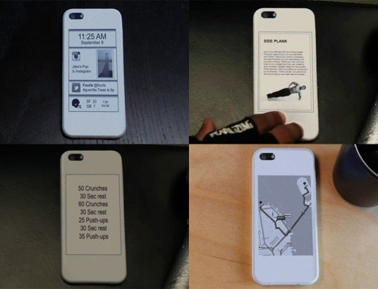 popSLATE – an E-Ink second screen for your iPhone 5