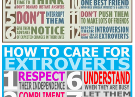 How to be a good father to Introvert(s) and/or Extrovert(s)