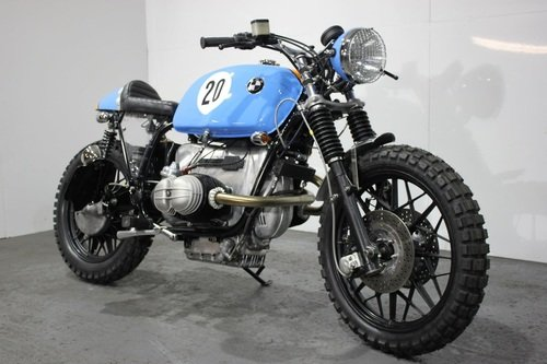 Kevils BMW R100 RS Le Mans — The Man's Man