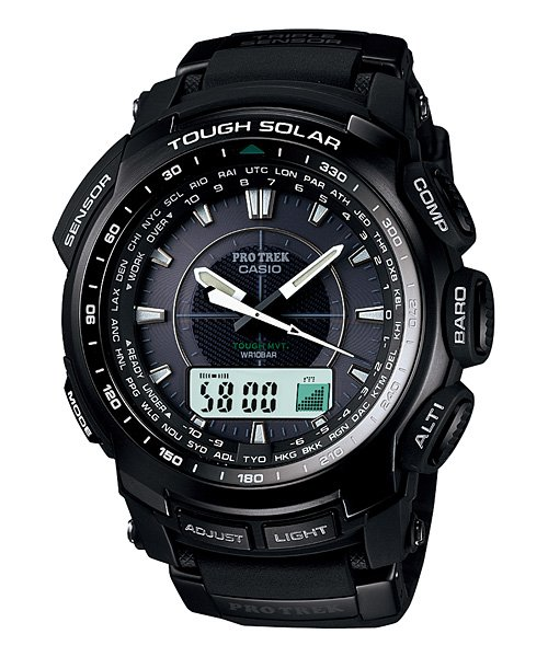Protrek PRW5100-1 Solar Watch — The Man's Man