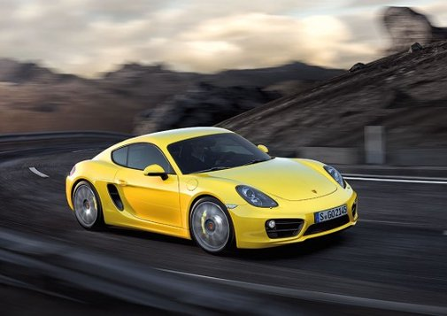 Porsche unveils the new, more powerful Cayman
