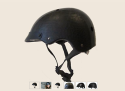 Leather Helmet for Hipsters on Fixed Gear