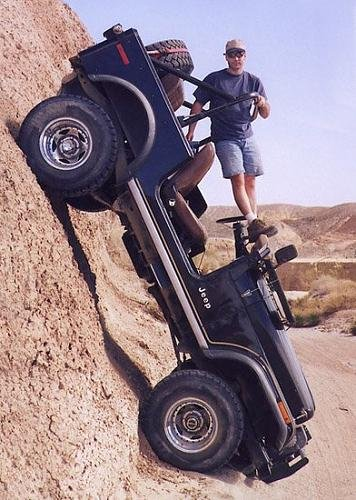 Vertical Jeep