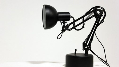 Pinokio lamp is the real-life counterpart to Pixar's Luxo Jr