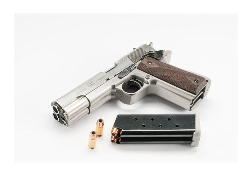 Arsenal Firearms Double Barrel .45 — The Man's Man