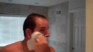 BEST SHAVE PREP For Shaving w Straight, Safety, Fusion, Hydro, Razor, Badger Brush, Cream, Soap - YouTube
