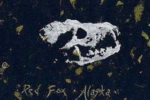 iva cooney - Work Detail: Red Fox, Alaska (Four-Color Print)