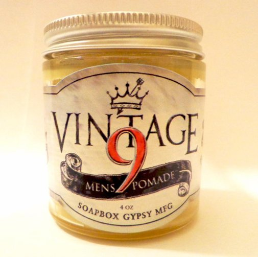 Vintage 9 Pomade 4oz by SoapboxGypsy on Etsy