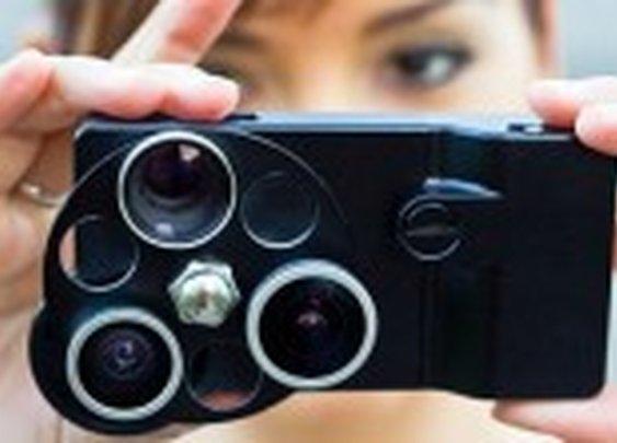 Turtleback launches TurtleJacket PentaEye lens wheel for iPhone5