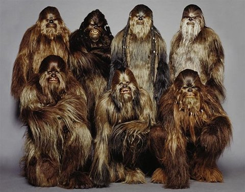 Wookie Group Shot // ffffound.com