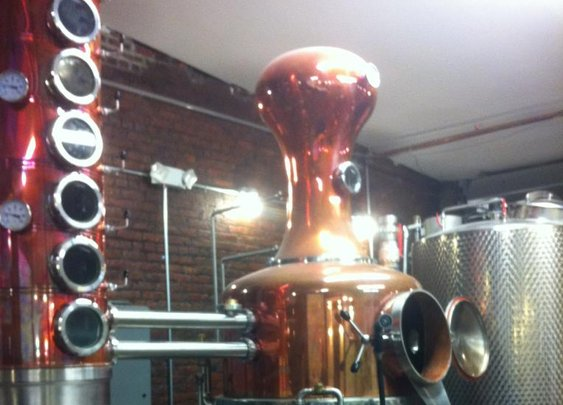 A still from the Albany Distillery