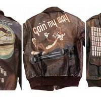 Why US Air Corps servicemen were allowed to wear such bad@$$ bomber jackets in WWII